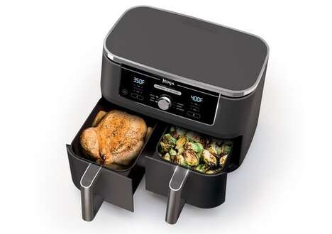 Dual-Compartment Air Fryers