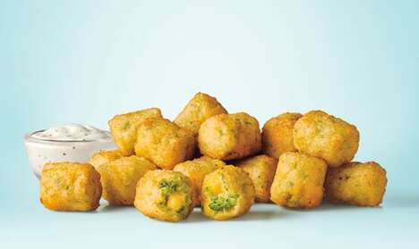 Limited-Edition Broccoli Cheese Bites