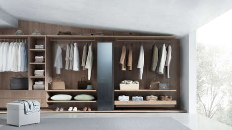 Garment-Cleaning Wardrobes