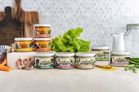 Free-From Plant-Powered Dips