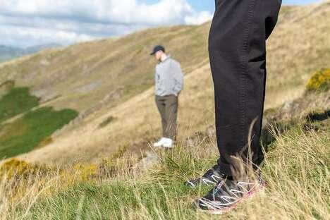 Weatherized Trail-Ready Footwear