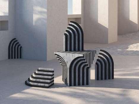 Minimal Offcut Furniture