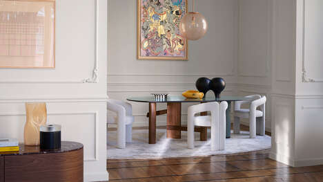 Mixed-Material Kitchen Tables