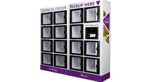 Connected Food Order Lockers
