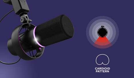 Streaming-Focused Microphones