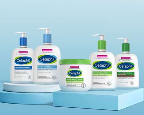 Revamped Sensitive Skincare Cosmetics