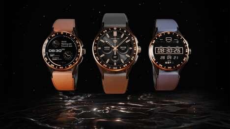 Ultra-Luxe Titanium Smart Watches