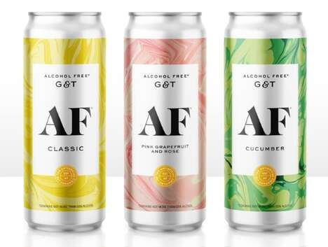 No-Alcohol Canned Cocktails
