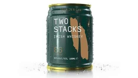 Canned Irish Whiskeys