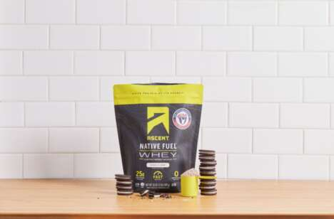 Ice Cream-Inspired Protein Powders