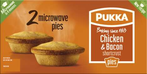 Frozen Microwaveable Meat Pies