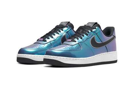 Luminous HTML Coded Sneakers