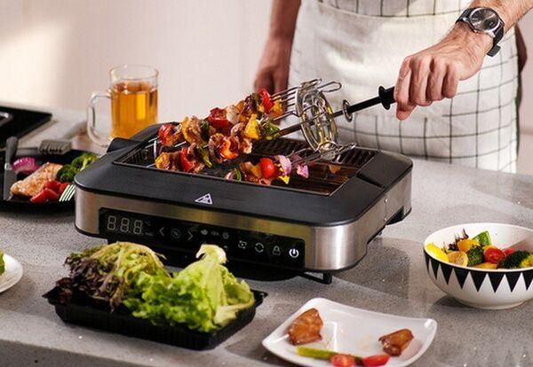 Indoor Smokeless Cooking Grills