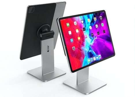 Minimalist Magnetic Tablet Mounts