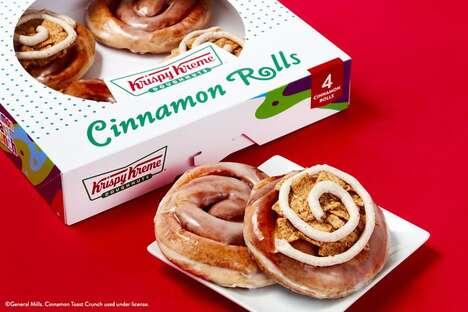 Doughnut-Inspired Cinnamon Rolls