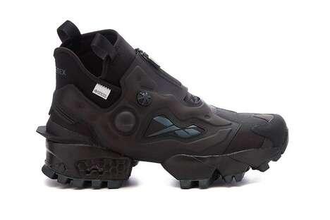 Hi-Top Durable Nylon Sneakers