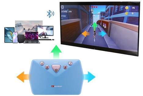 Motion-Activated Gaming Controllers