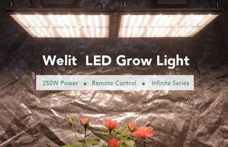 Self-Cooling Gardening Lights