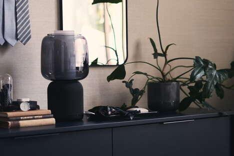 Customizable Speaker Lamps