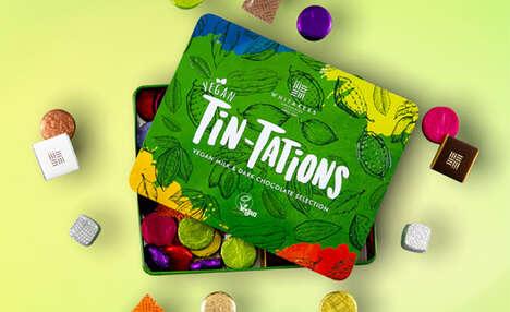 Plant-Based Chocolate Tins