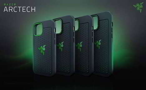 Ventilated Antimicrobial Smartphone Cases