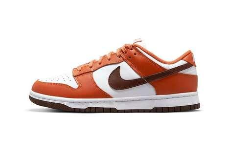 Orange Tonal Sneaker Designs
