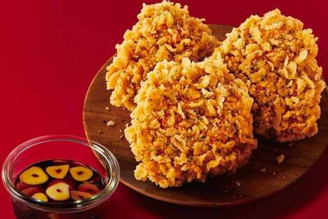 Savory Garlic Chicken Snacks