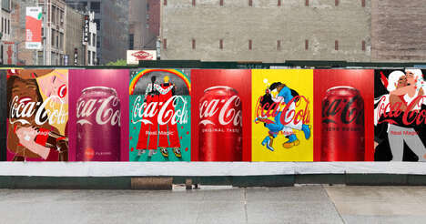 Refreshed Post-Pandemic Cola Branding