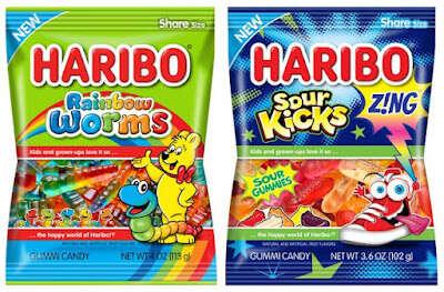 Rainbow-Hued Gummy Worms