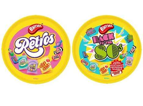 80s-Inspired Holiday Candy Containers