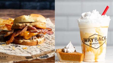 Autumnal Burger Brand Menus