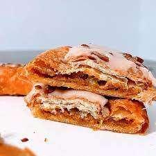 Autumnal Pumpkin Caramel Pastries