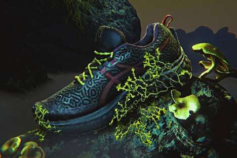 Swamp-Themed Stark Sneakers