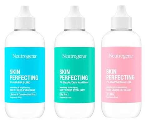 Skin-Caring Liquid Exfoliants
