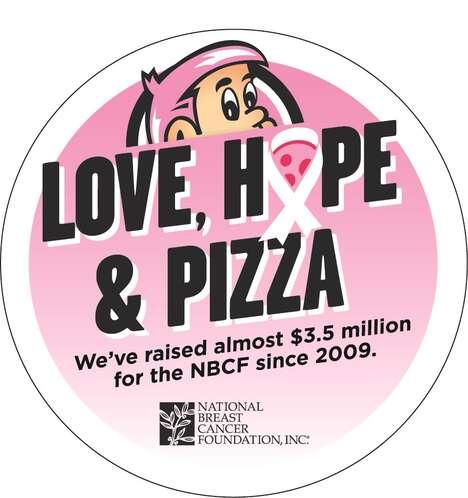 Breast Cancer Pizza Campaigns