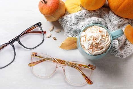 Pumpkin Spice Glasses Frames