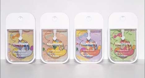 Cartoon-Themed Hand Sanitizers