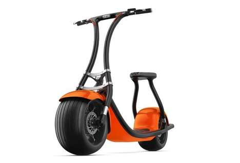 Self-Learning Electric Scooters