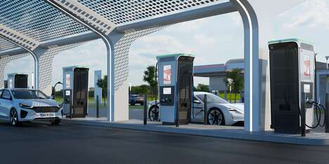 Ultra-Fast Electric Vehicle Chargers