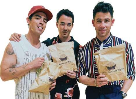 Boy Band Popcorn Snacks