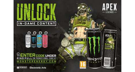Gamer Energy Drink Promotions