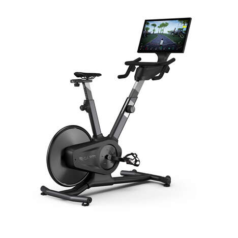 Hybrid Gamified Fitness Bikes