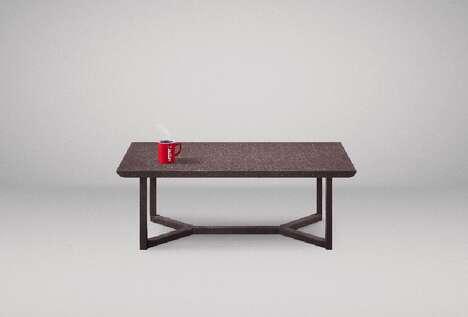 Coffee Ground-Made Coffee Tables