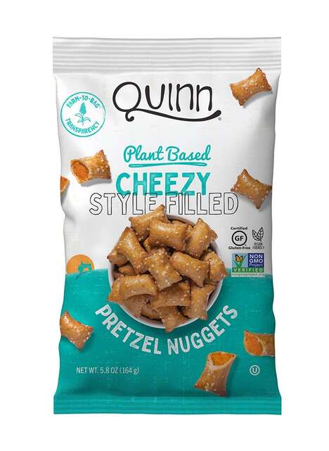 Cheesy Vegan Pretzel Nuggets