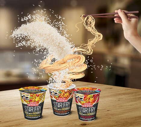 Stir-Fry Noodle Cups