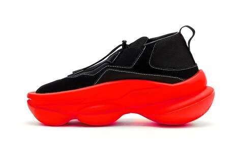 Chunky Futuristic Sneakers