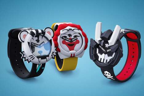 Limited-Edition Toy Art Watches