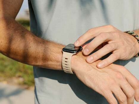 Sporty Breathable Smartwatch Straps
