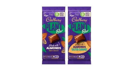 Recognizable Plant-Based Chocolate Bars