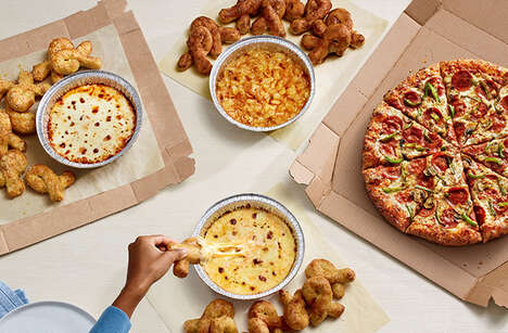 Oven-Baked Pizza Brand Dips